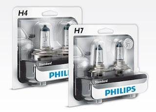 Zestaw 2 żarówek samochodowych Philips z Biedronki