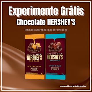 Amostra Grátis Brinde Grátis Chocolate Hersheys