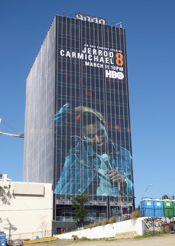 Giant Jerrod Carmichael 8 HBO comedy billboard