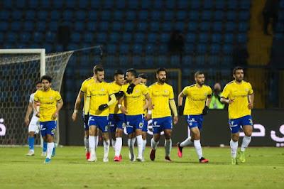 ملخص و هدف فوز الاسماعيلي علي الانتاج الحربي (1-0) الدوري المصري