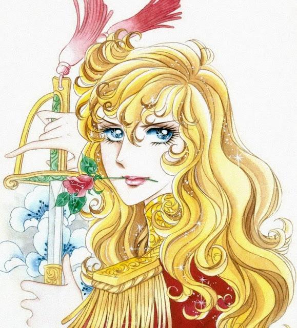 Resultado de imagem para Rosa de Versalhes mangá