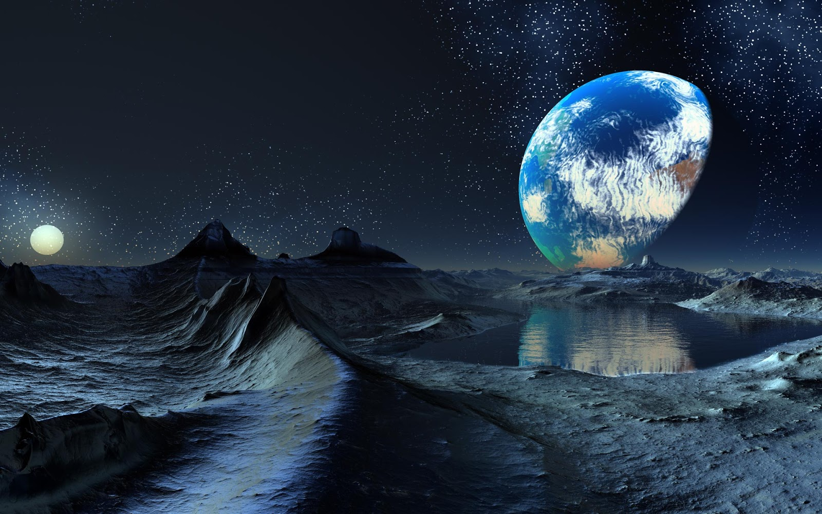 Desktop Backgrounds 4U: Planets