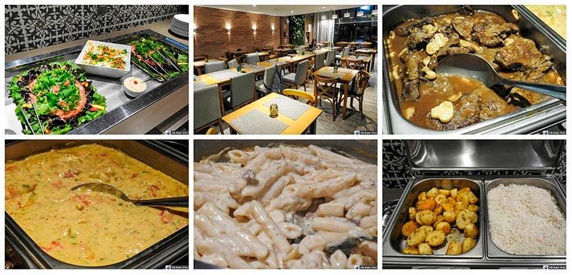 Onde comer em Criciúma - restaurante Hotel Interclass