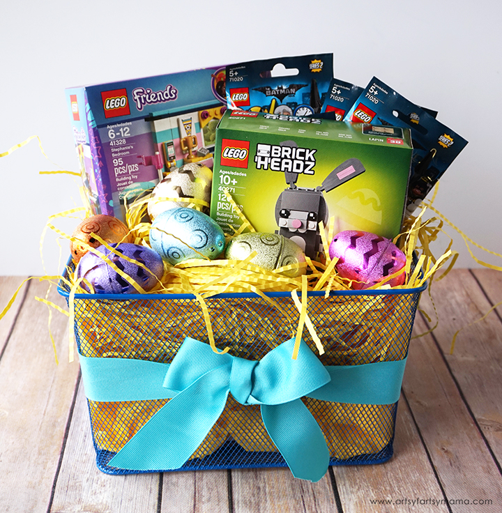 Surprise a LEGO fan with a unique LEGO Easter Basket!