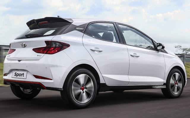 Novo Hyundai HB20 Sport 2020