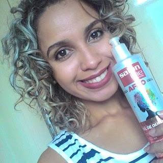 Gel de queratina afro-Resenha/Salon Line