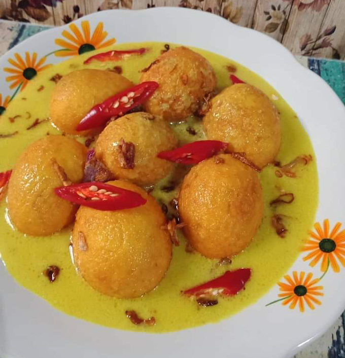 Resep Gulai Telur Pedas
