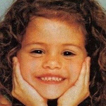 Selena Gomez from Childhood Photos