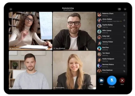 Telegram Added Screen Sharing, Group Video Calls Like Zoom