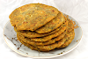 Skillet-Fried Flatbread with Lentils and Fenugreek (Dal Methi Paratha)