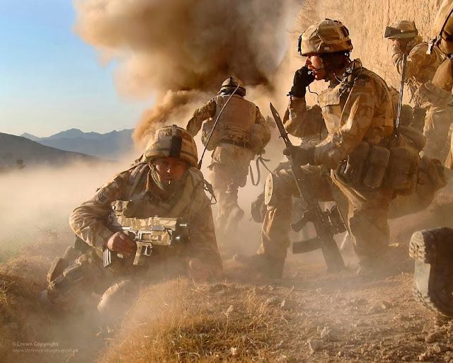 Resultado de imagen de fuerzas británicas han participado en una serie de pequeñas guerras