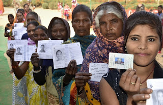 46.83-percent-poll-in-first-phase-jharkhand-till-noon