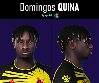 PES 2021 Faces Domingos Quina by Ryudek