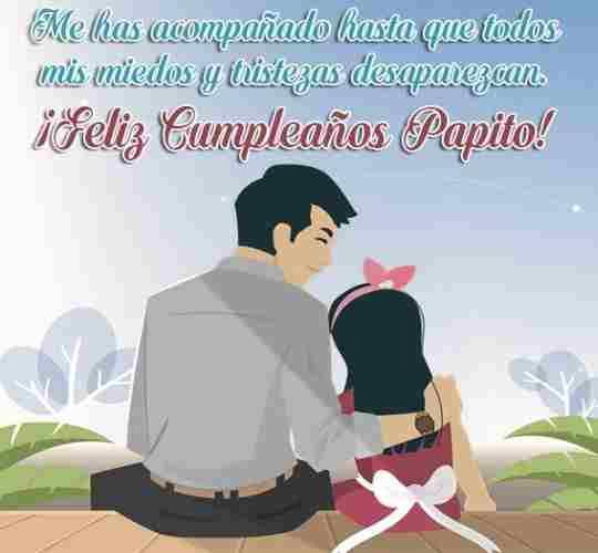 felicitaciones papa por tu cumpleaños mis mejores deseos