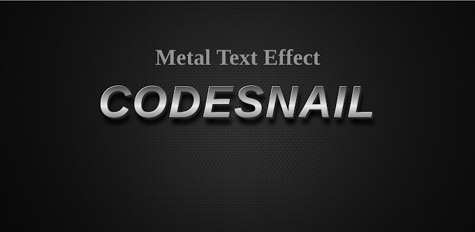 Metal Text Effect using CSS