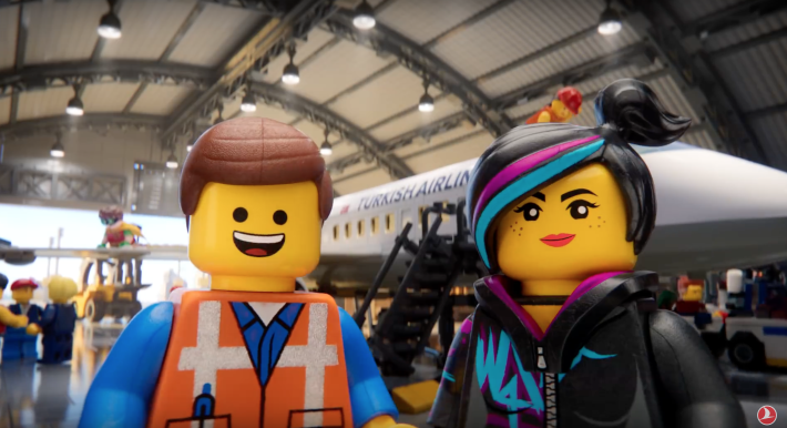 Turkish Airlines Soars With Creative Safety Video With Lego Movie