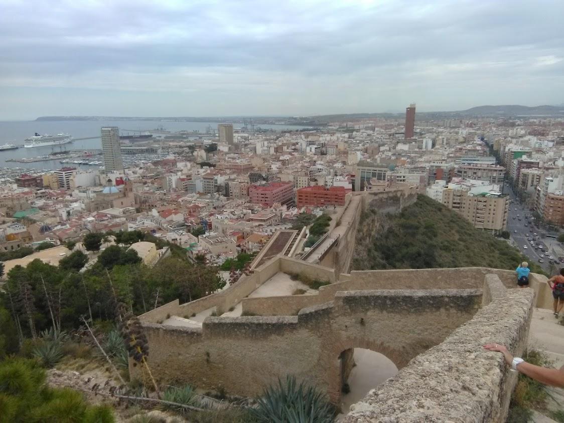Alicante 2018 - Castillo de Santa Bárbara - Transatlantic Cruise