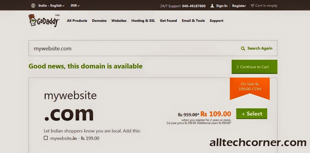 Set Up A Custom Domain With Godaddy In Blogger