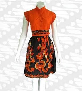 Foto Model Baju Batik Modern untuk Kerja