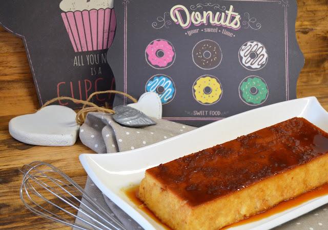 donuts, pudin con donuts, pudin de donuts, pudin donuts duros, receta pudin de donuts, recetas con donuts, recetas de donuts, las delicias de mayte,