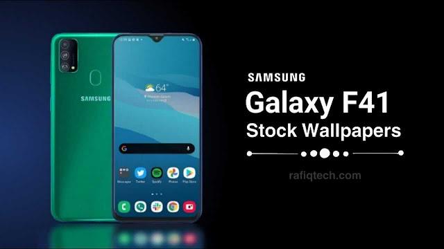 تحميل خلفيات  سامسونج Samsung Galaxy F41 الرسمية بجودة عالية الدقة