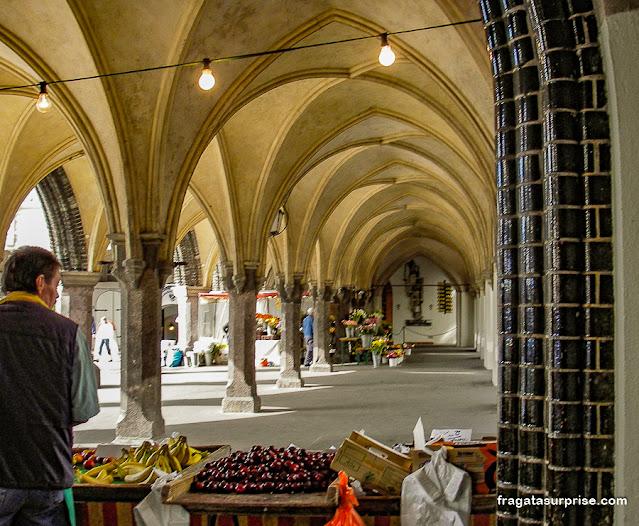 Praça do Mercado de Lübeck, Alemanha