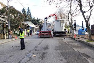 Σε πλήρη εξέλιξη οι εργασίες για το νέο Πύργο Κωπηλασίας   από το Δήμο Καστοριάς, που ολοκληρώνονται αύριο