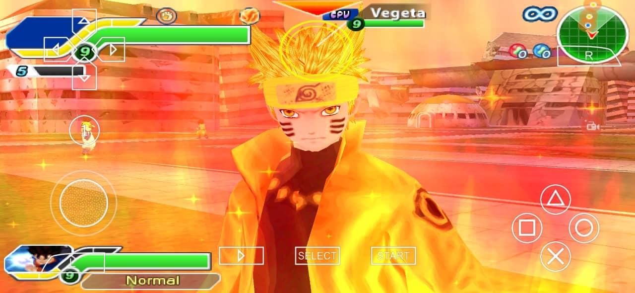 Jump Force Naruto in DBZ TTT Mod