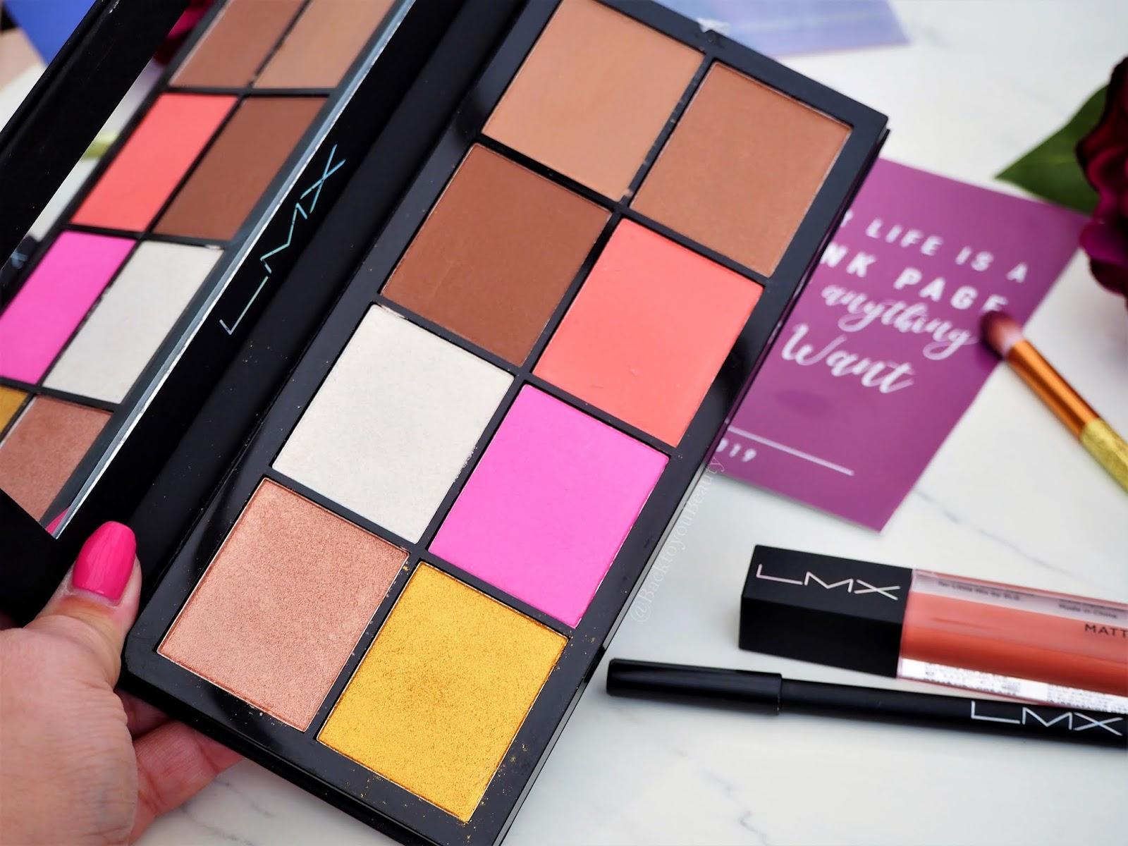 LMX Beauty Face Palette
