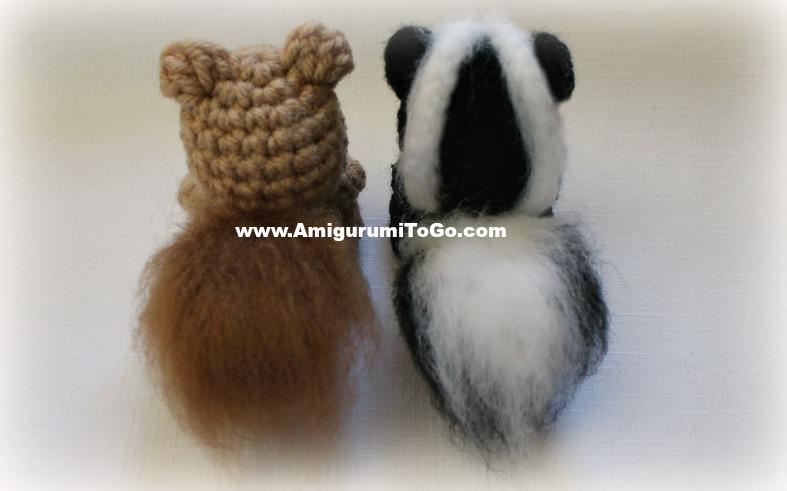 Amigurumi Freely To Go : Ace the Tiny Squirrel ~ Amigurumi To Go