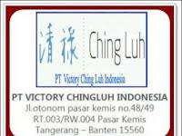 Lowongan Kerja Via Email PT Victory Chingluh Indonesia Tangerang 2019