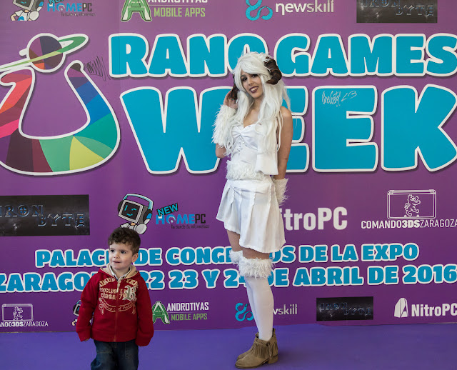 Urano Game 2016 Zaragoza cosplay
