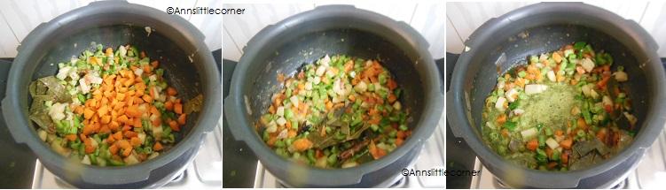 How to make Broken Wheat Biryani - Step 4