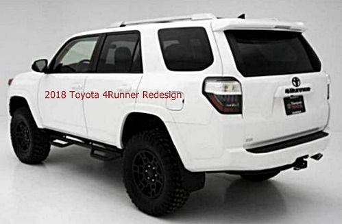 2018 toyota 4runner redesign.  Redesign And 2018 Toyota 4runner Redesign E