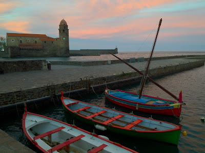 Diary of covid-19 confinement day forty-four Collioure