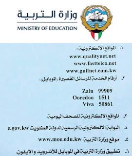 روابط الإطلاع على نتائج الثانوية العامة الكويت 2016 بالتفاصيل