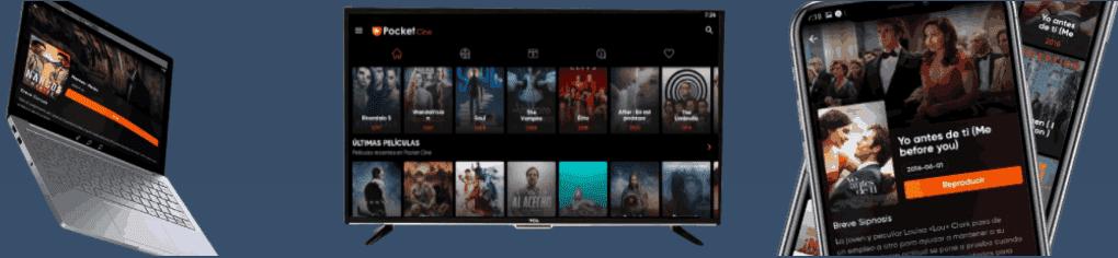 Pocket Cine PRO Apk | Ver Películas y Series Para Android, Smart Tv y Pc