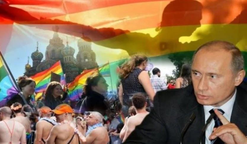 Ο Πούτιν βάζει τέλος στους γάμους των γκέι και την τεκνοθεσία από τρανς