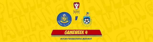 Live Streaming Pahang vs Sabah Piala Malaysia 24.8.2019