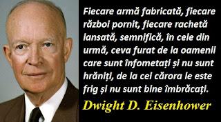 Citatul zilei: 14 octombrie - Dwight D. Eisenhower