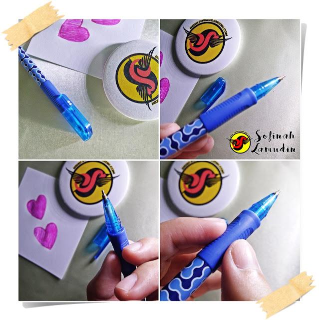 Koleksi Alat Tulis | Ball Pen Untuk Menulis Nota Atau Mencatat | Review dan Kelebihan Ball Point Pen Mengikut Jenama Alat Tulis - Paper Mate InkJoy 300 0.7 F