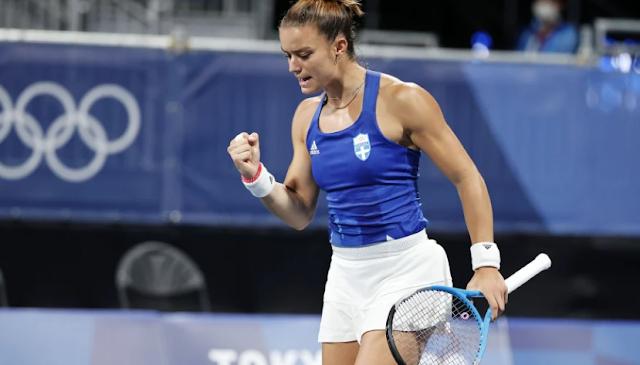 Μαρία Σάκκαρη – Ίγκα Σβιόντεκ 2-0: Τρομερή εμφάνιση για την Ελληνίδα τενίστρια και πρόκριση στον τελικό του Ostrava Open