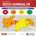 Plano Novo Normal: Paraíba tem 62% dos municípios em bandeira laranja.