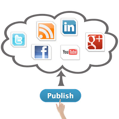 Cara Promosi Online simple, publish to Your Account, Cara Promosi, auto post promosi online