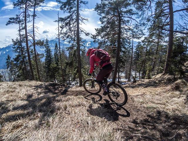 Schneefreie Trails 2018 mtb