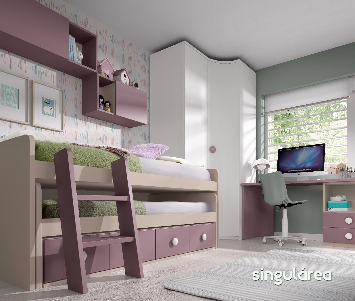 Blog dormitorios juveniles com novedades camas infantiles - Escaleras para camas nido ...