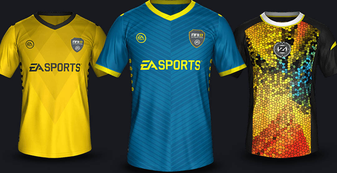 fifa 18 how to change team jersey