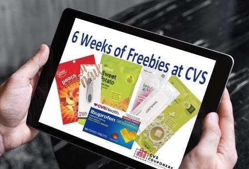 6 weeks of freebies at CVS