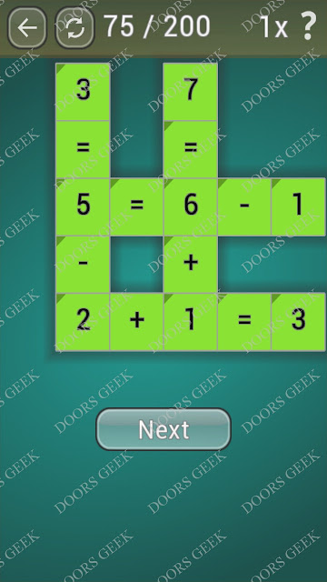 Math Games [Beginner] Level 75 answers, cheats, solution, walkthrough for android
