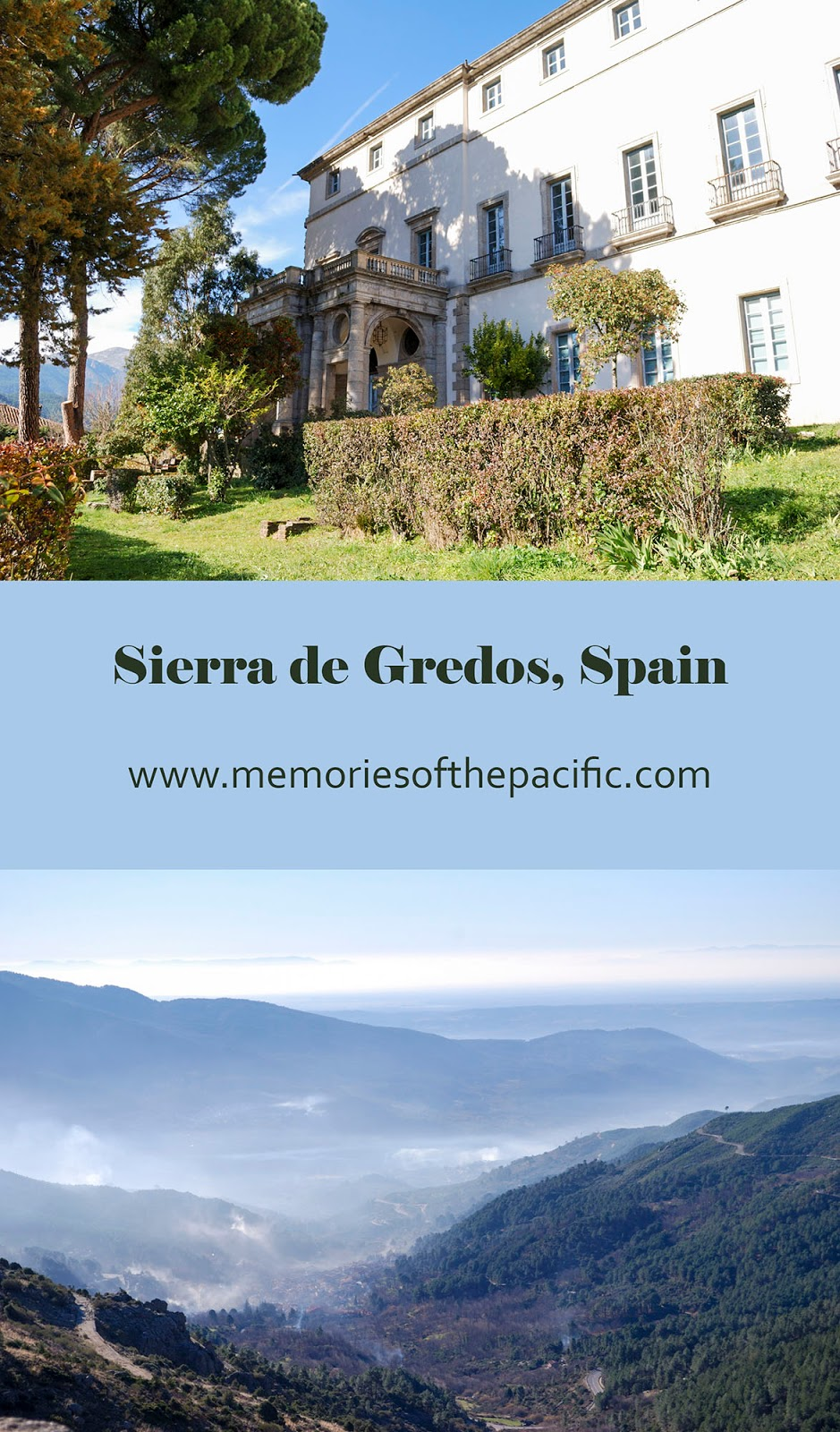 sierra gredos avila mountain range spain hike nature historic town